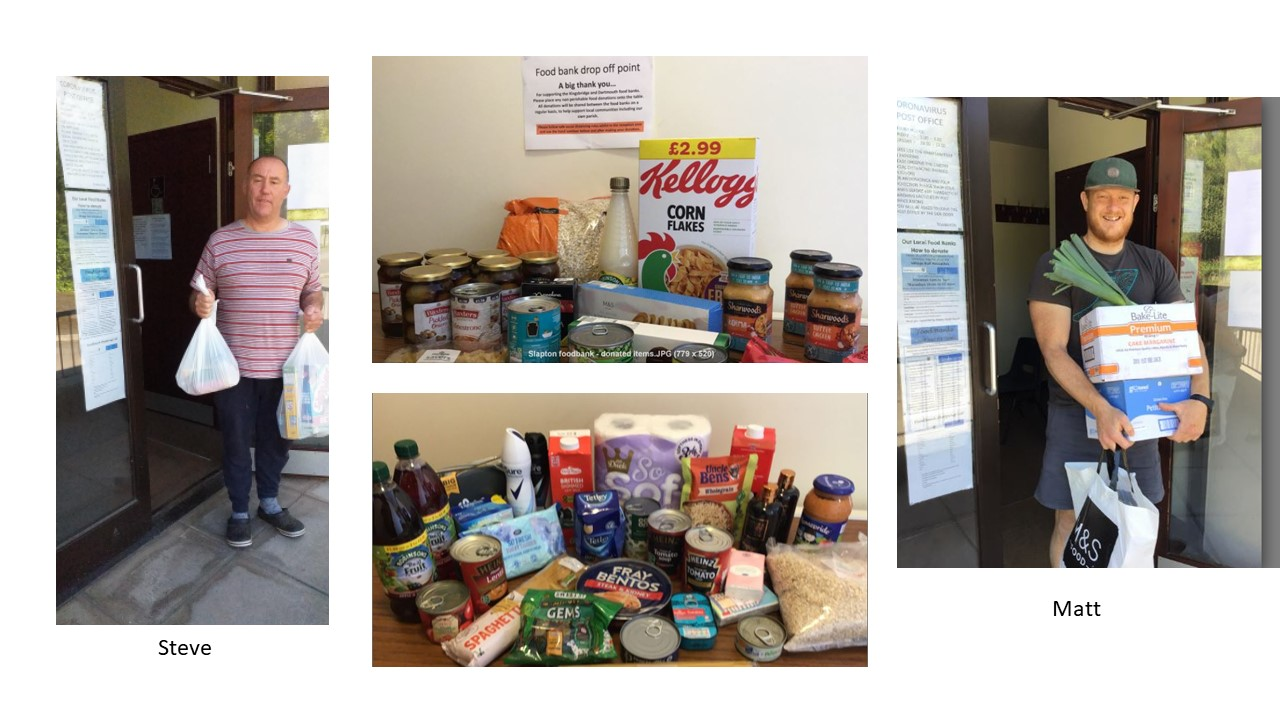 Slapton Community Foodbank Collection Point Appeal - Campaign Target update
