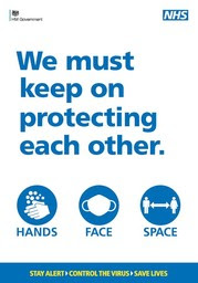 NHS Protection poster